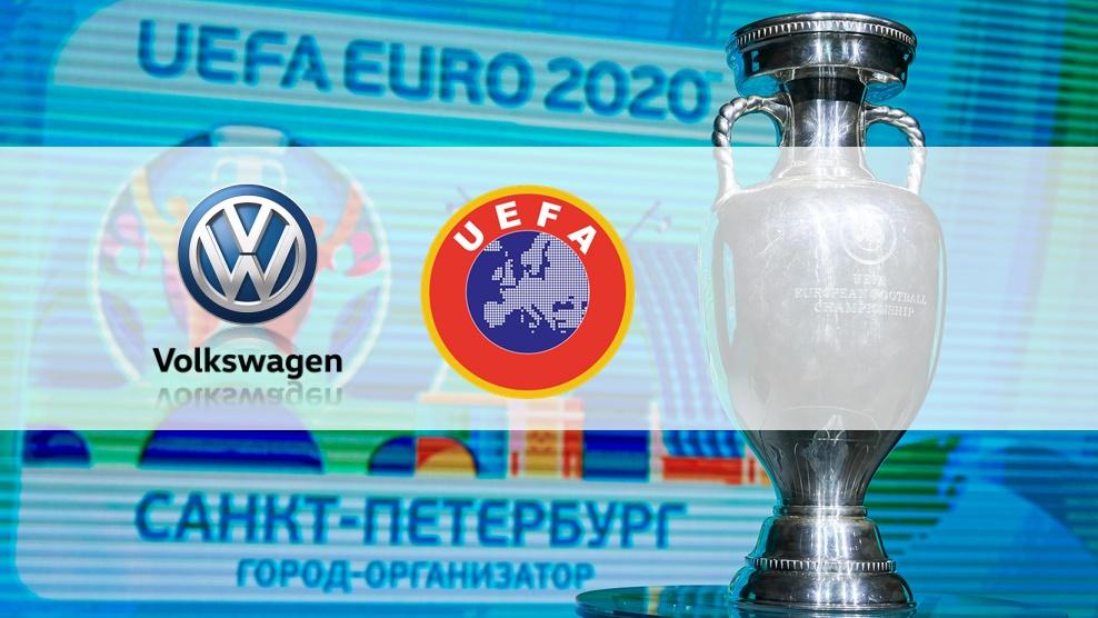 Uefa, Euro-2020 için Volkswagen ile anlaştı