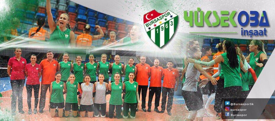 Bursaspor Kadın Voleybol Takımı'nın isim sponsoru Yüksekoba İnşaat