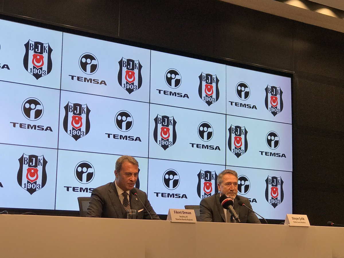 Beşiktaş, TEMSA sponsorluğunu uzattı