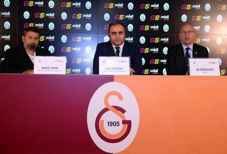 Galatasaray – Misli.com Sponsorluk Detayları