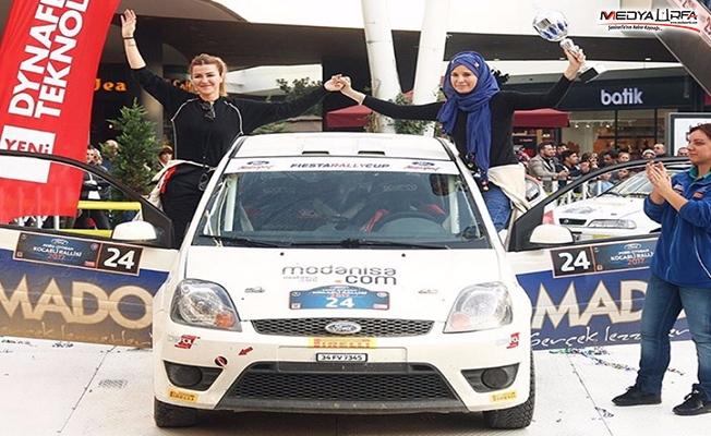 Türkiye Kadınlar Ralli Birincisi Milli Rallici Burcu Çetinkaya