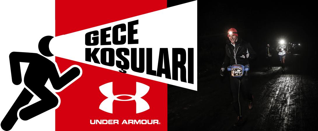 Çekmeköy Belediyesi'nin Desteği İle Under Armour Gece Koşuları