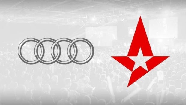 Audi, Astralis'e Sponsor Oldu