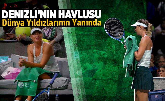 Maria Sharapova, Turkish Towels Marka Havlu Kullandı