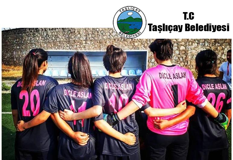 Taşlıçay Belediyesinden Dicle Aslan Spor Kulübü'ne Destek