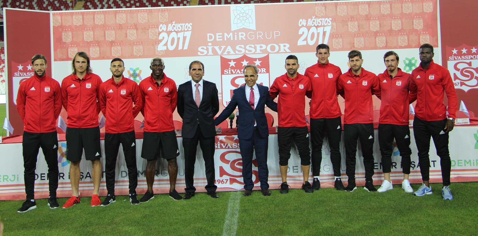 Demir Grup'un Sivasspor'a Sponsorluğu Devam Edecek