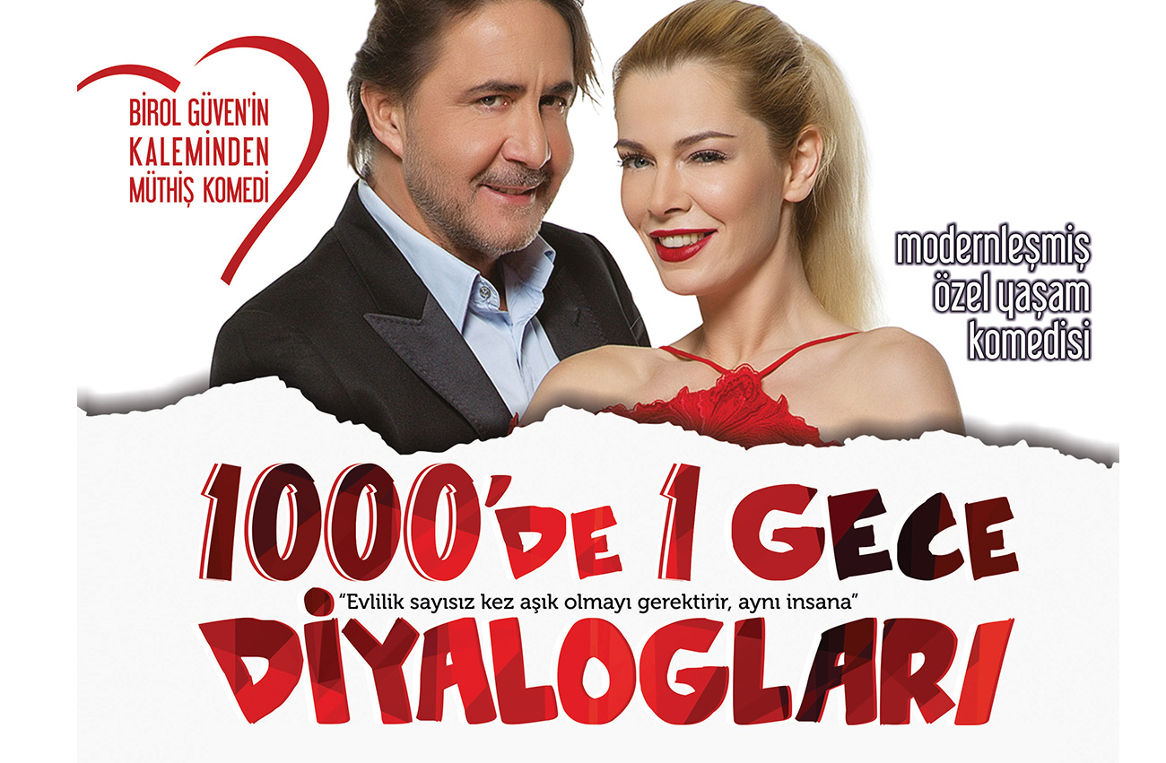 1000'de 1 Gece Diyalogları İzmir'de