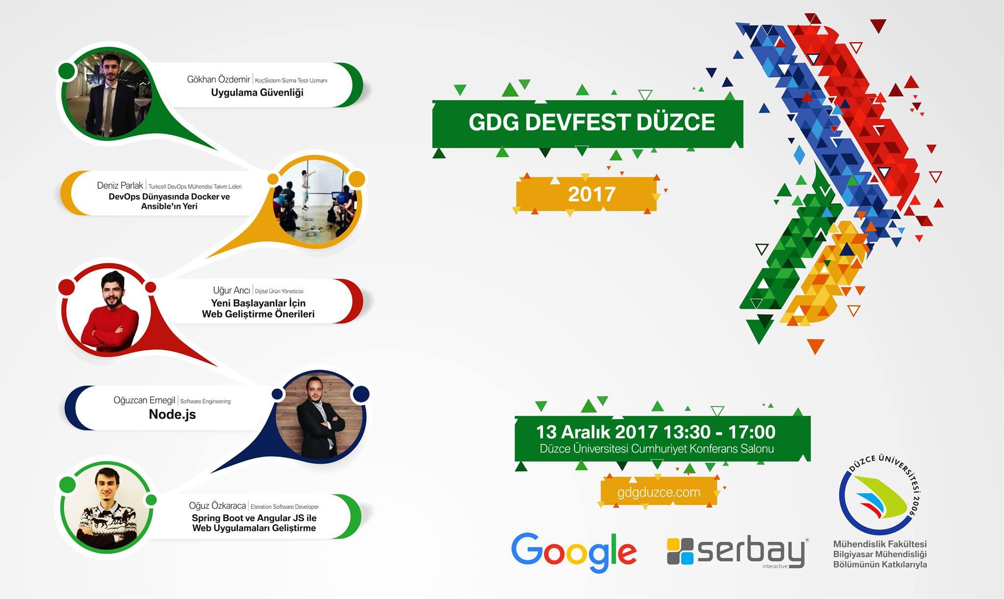 Serbay Interactive Sponsorluğunda DevFest 2017