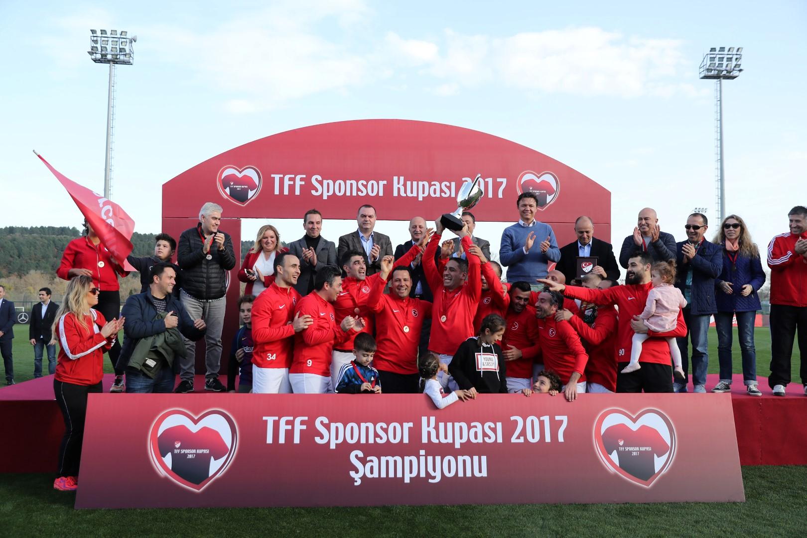 TFF Sponsor Kupası 2017'nin Şampiyonu Arçelik