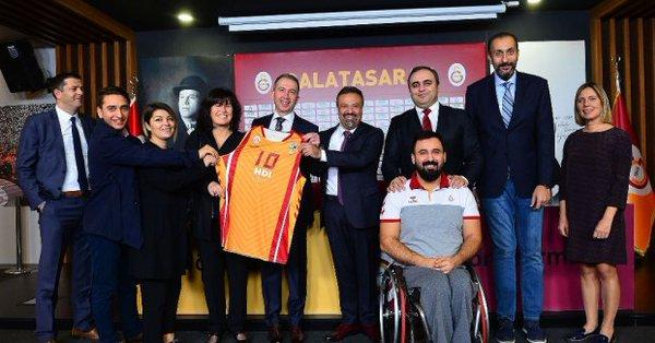HDI Sigorta, Galatasaray'la Sponsorluk Anlaşması İmzaladı