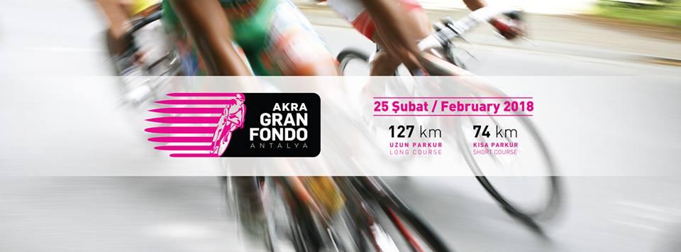 AKRA Otel Ana Sponsorluğunda AKRA Gran Fondo Antalya