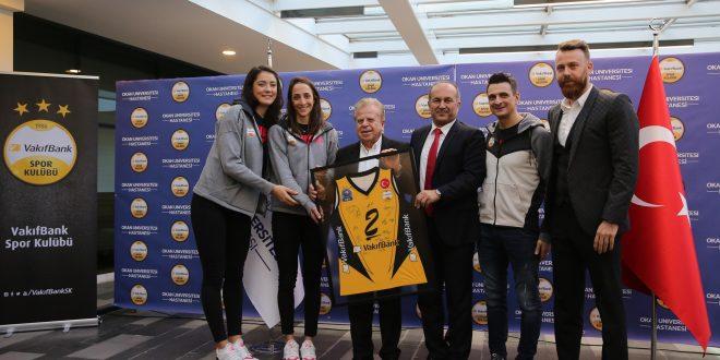 Okan Üniversitesi Hastanesi VakıfBank Spor Kulübü Sağlık Sponsoru