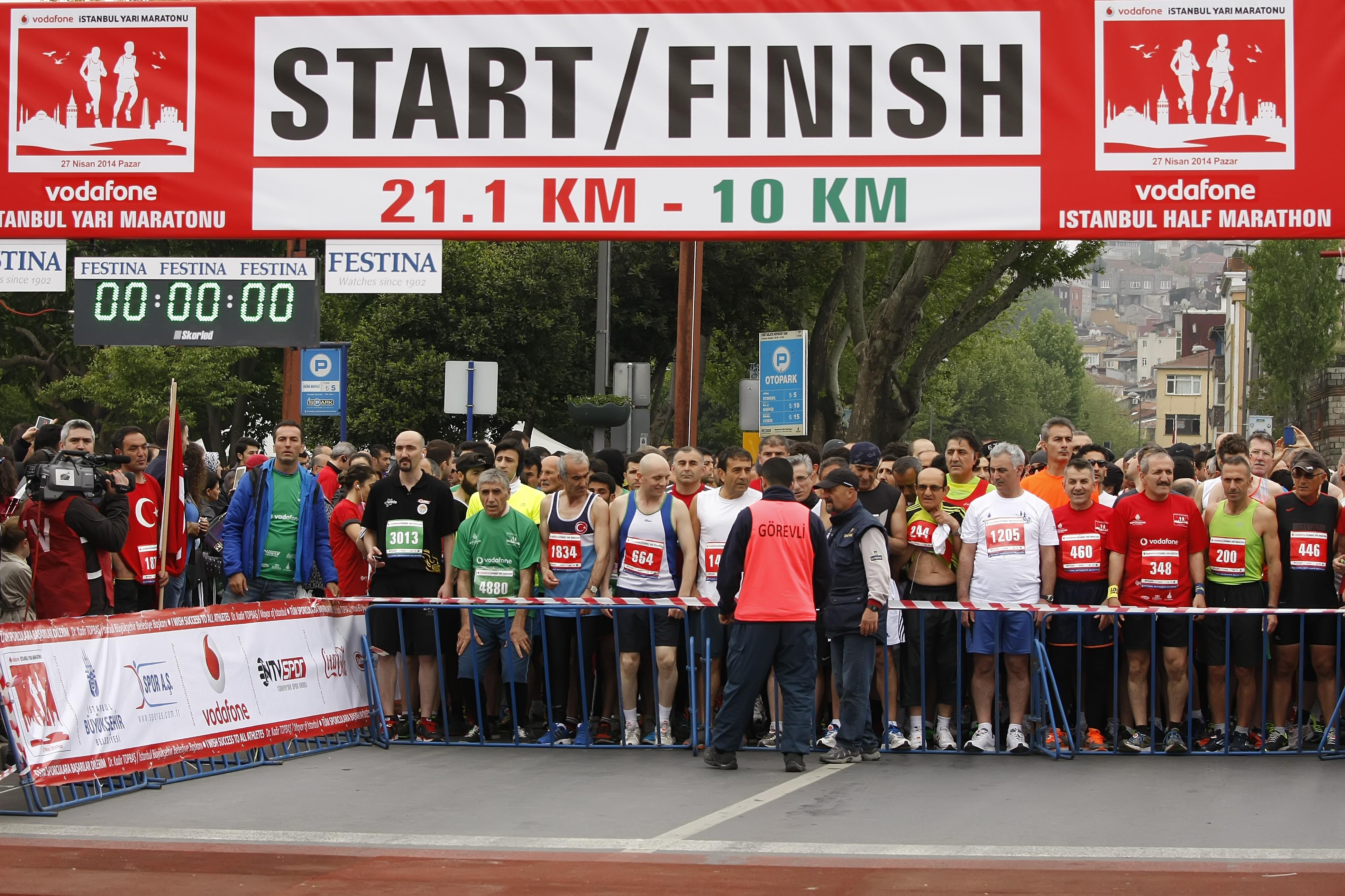 Vodafone, Yarı Maratonu'nun İsim Sponsoru Oldu
