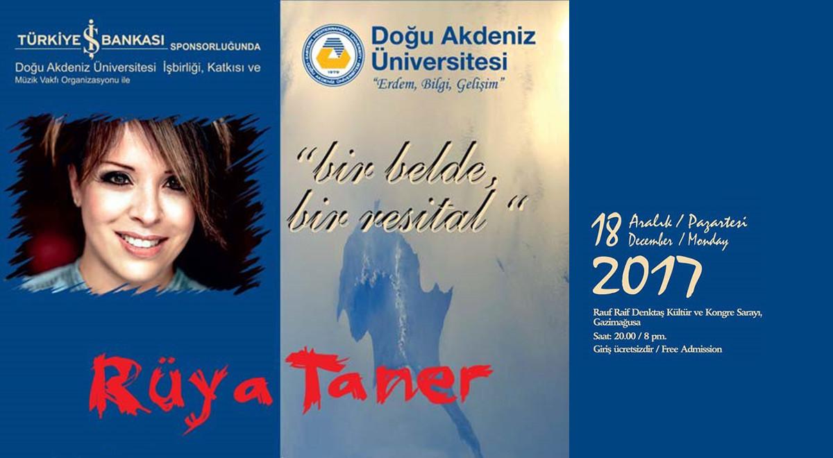 Türkiye İş Bankası Ana Sponsorluğunda Rüya Taner Konseri