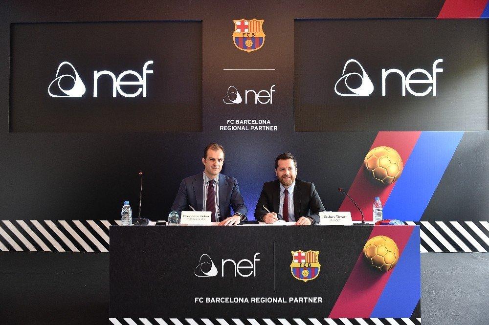 NEF'in Barcelona Sponsorluğu Devam Ediyor