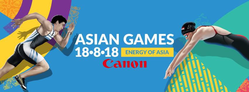 2018 Asya Oyunları'nın Sponsoru Canon