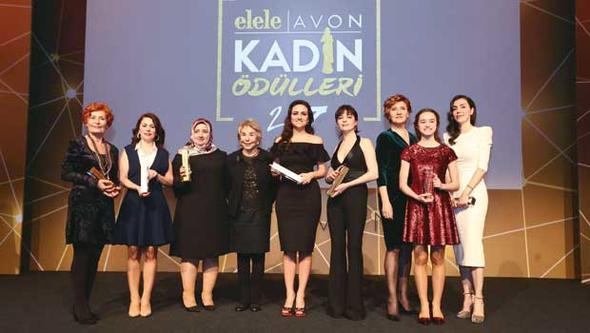 Avon'dan Hayata İmza Atan Kadınlar Ödül Töreni