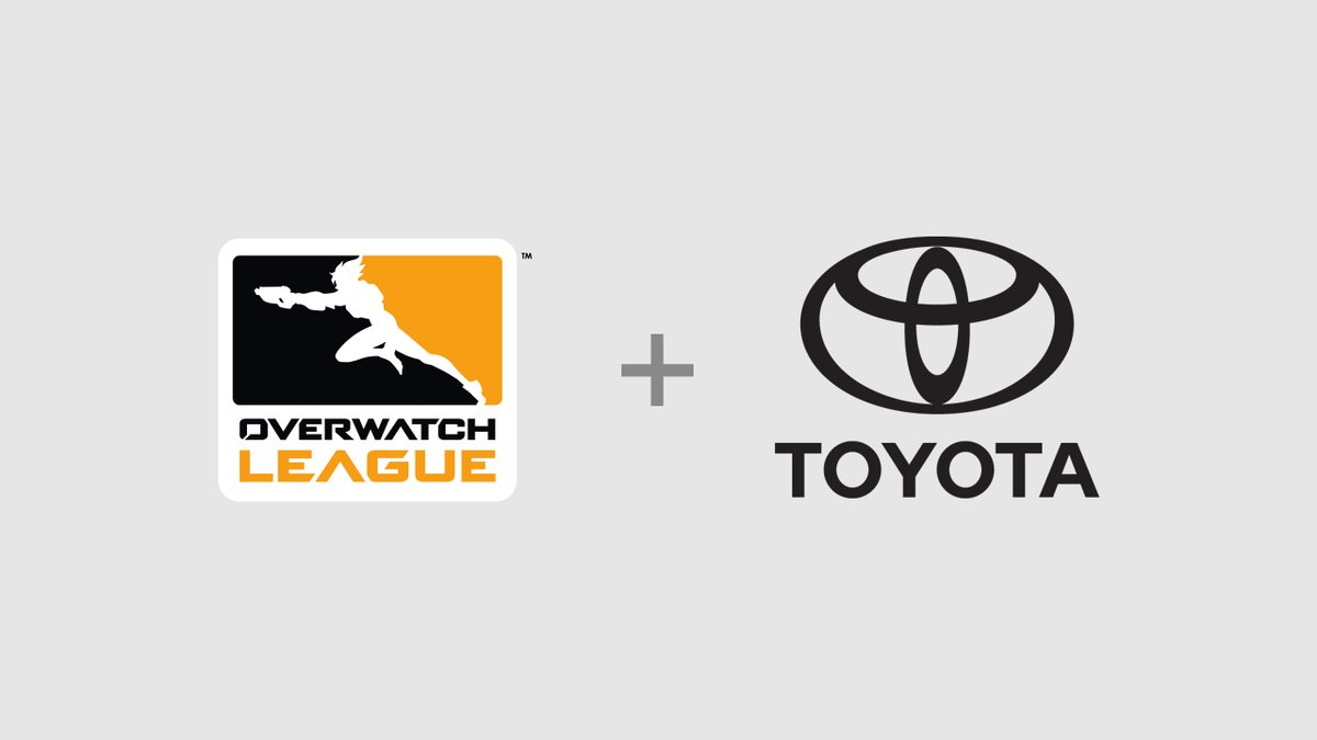 Toyota Overwatch League'e Sponsor Oldu