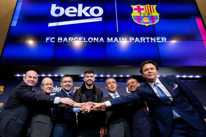 Beko, 2021'e kadar FC Barcelona'nın Sponsoru