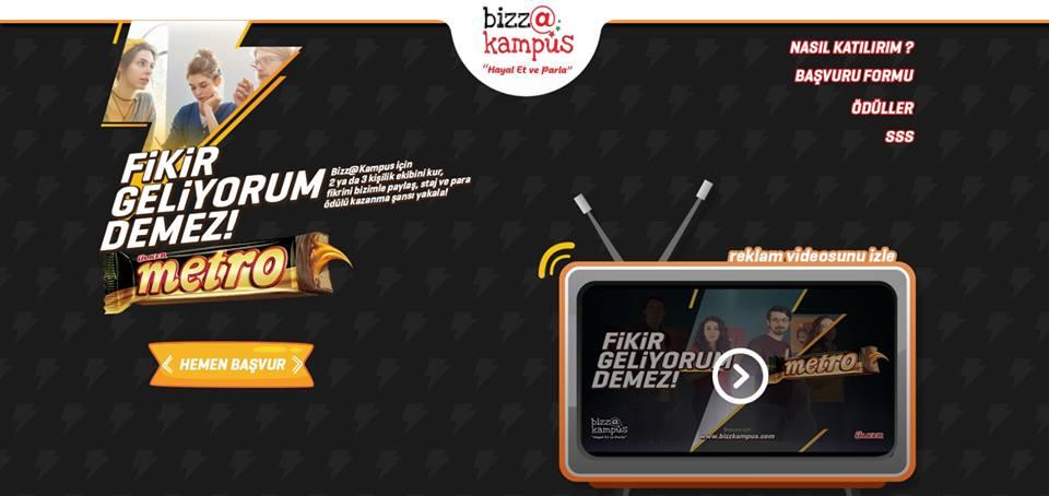 Bizz@kampüs Yarışması Başvuruları Başladı