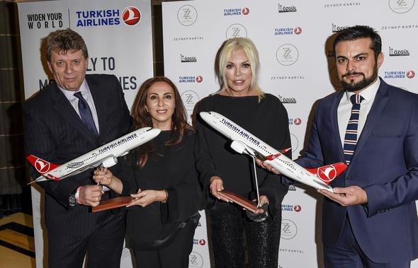 Türk Hava Yolları Sponsorluğunda Londra Moda Haftası