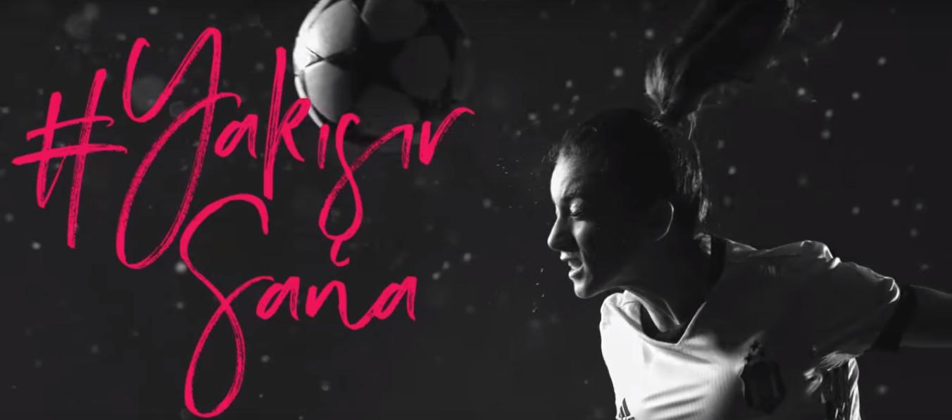 Beşiktaş Kadın Futbol Takımı'nın Ana Sponsoru AVON- #YAKIŞIRSANA