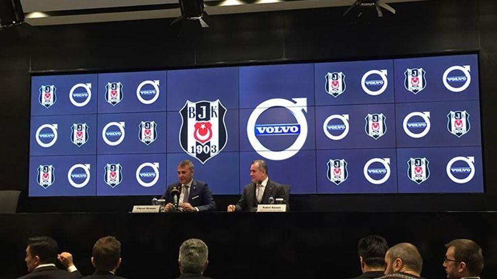 Beşiktaş ile Volvo Sponsorluk Anlaşması