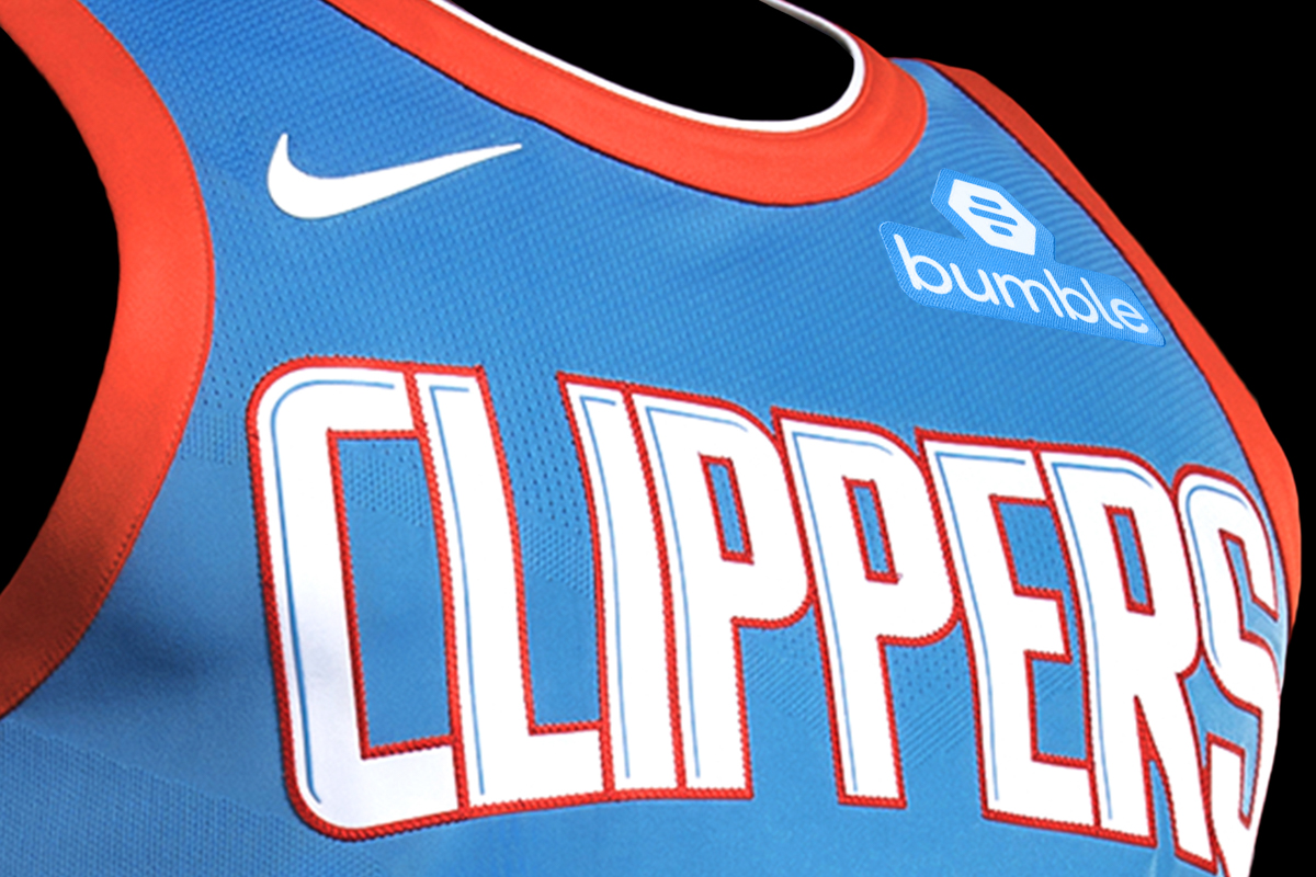 Bumble,Clippers'a Sponsor Odu