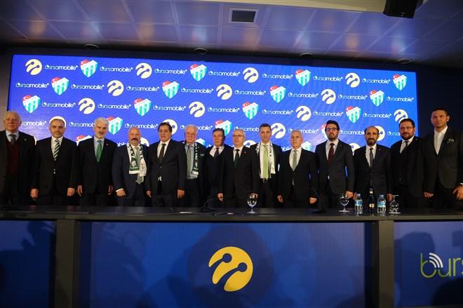 Bursaspor ile Turkcell Sponsorluk Anlaşması İmzaladı