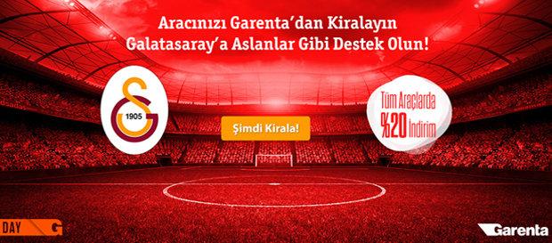 Garenta'dan Galatasaraylı'lara Özel İndirim