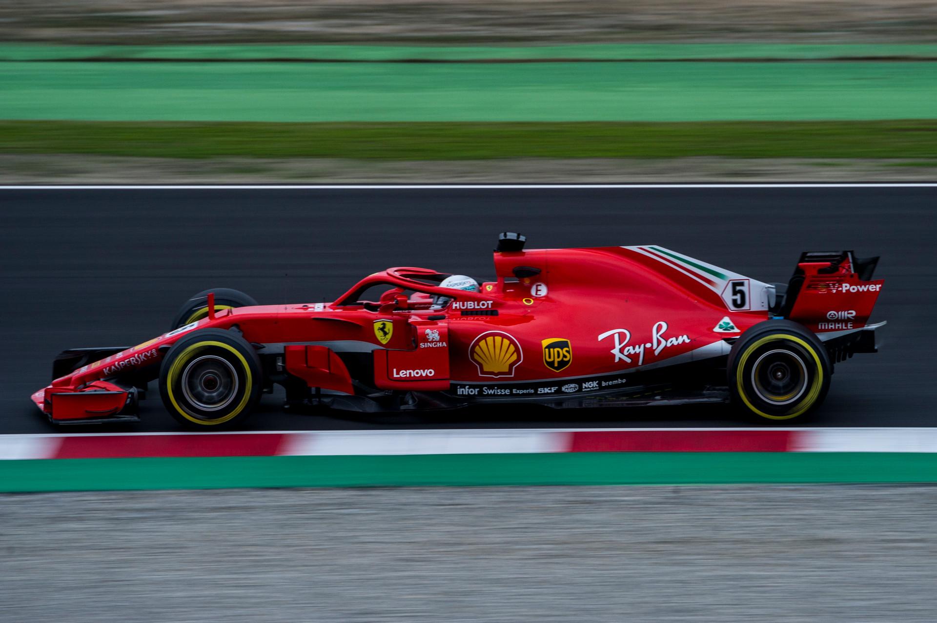 Lenovo'nun Ferrari Sponsorluğu 2018 Sezonuyla Başlıyor