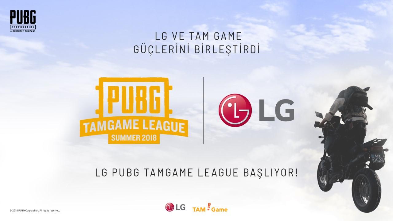 PUBG TAMGAME Ligi'nin Ana Sponsoru LG Electronics