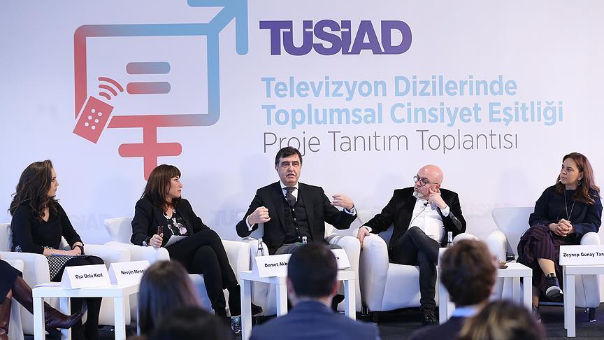 Televizyon Dizilerinde Toplumsal Cinsiyet Eşitliği Projesi Ana Sponsoru Koç Holding
