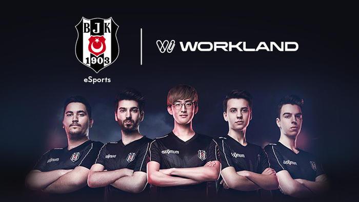 Workland, Beşiktaş JK Espor'a Sponsor Oldu