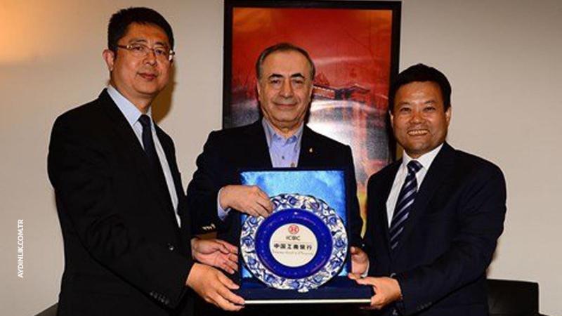 Çinli Bankadan Galatasaray'a Sponsor