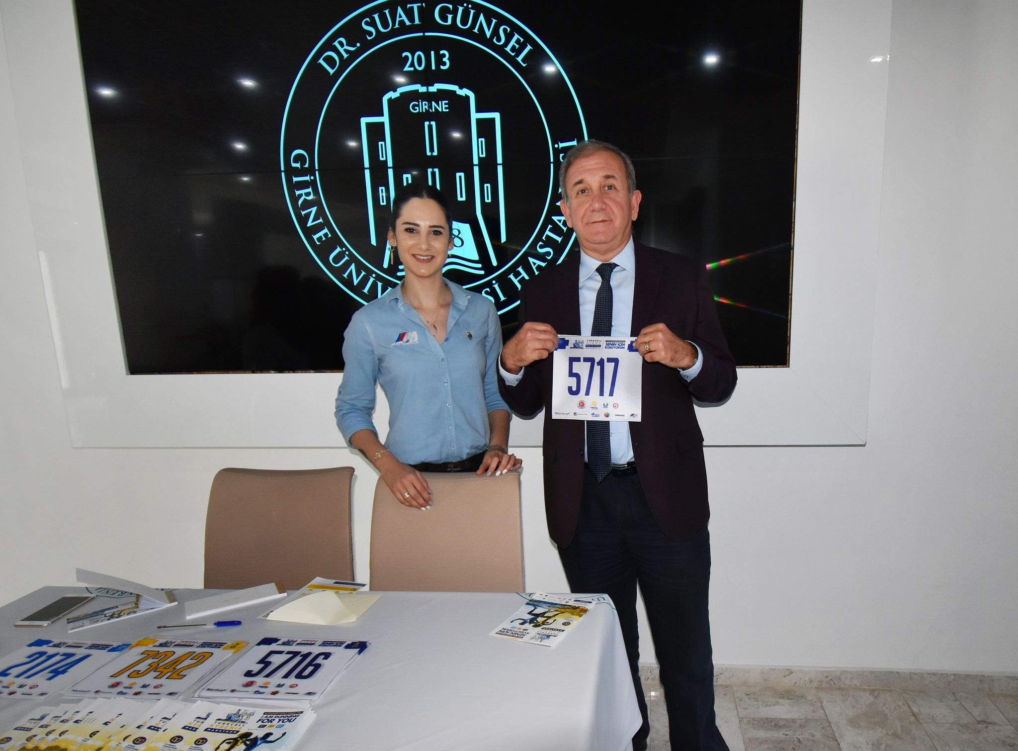 1.Girne Maratonu'na Destek Sponsoru