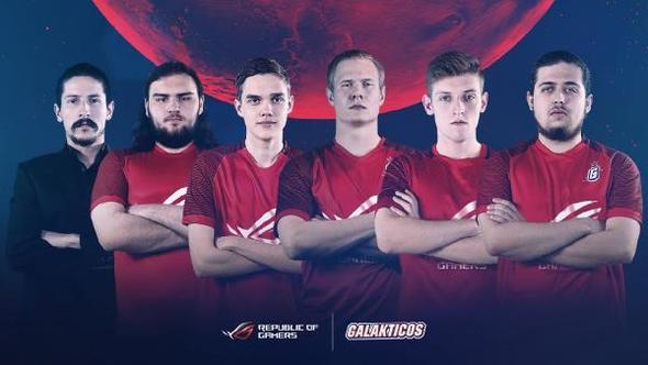 ASUS Republic of Gamers, Galakticos Espor'un Sponsoru