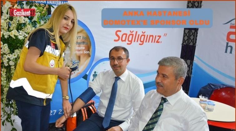 Domatex'in Sağlık Sponsoru Anka Hastanesi Oldu