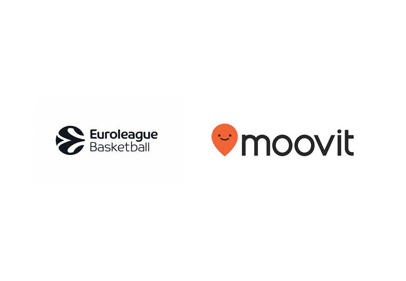 Euroleague Basketball'a Moovit Sponsorluğu