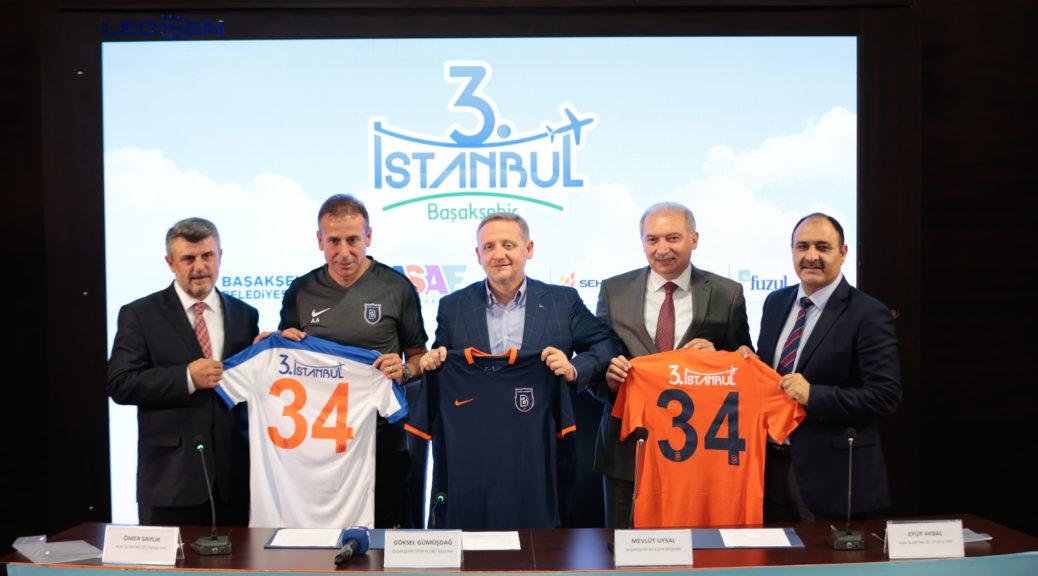 Eylem Türk'ün Başakşehir Futbol Kulübü Sponsorluk Yazısı