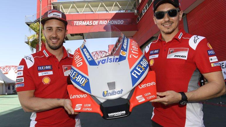 Lenovo, Ducati'nin Sponsoru Oldu