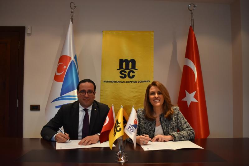 MSC, Türkiye Yelken Federasyonu'nun Sponsoru Oldu