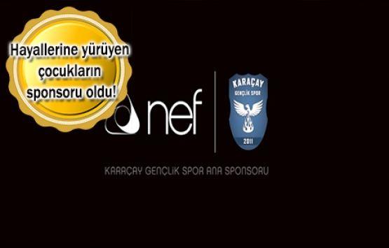 NEF, Karaçay Gençlik Spor'a Sponsor Oldu
