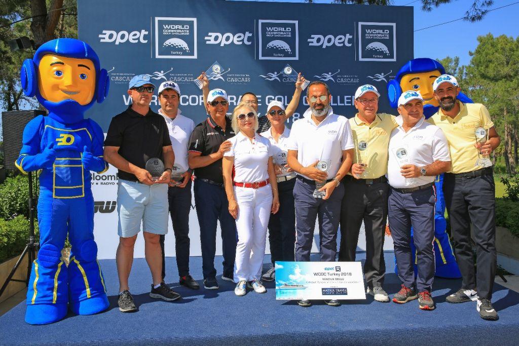 OPET Sponsrluğunda Golf Şampiyonları Belli Oldu