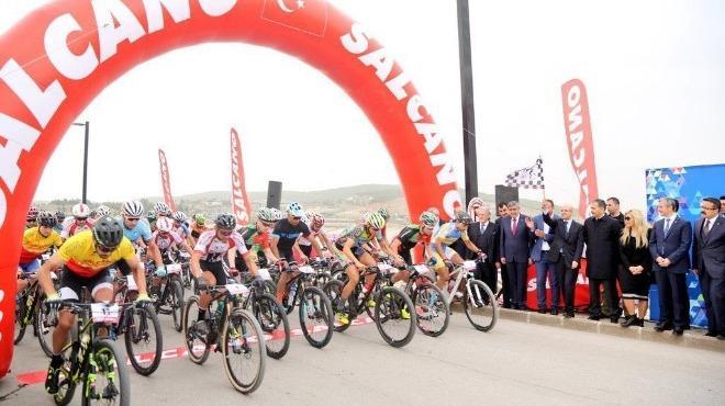 Salcano İsim Sponsorluğunda Bisiklet Yarışı
