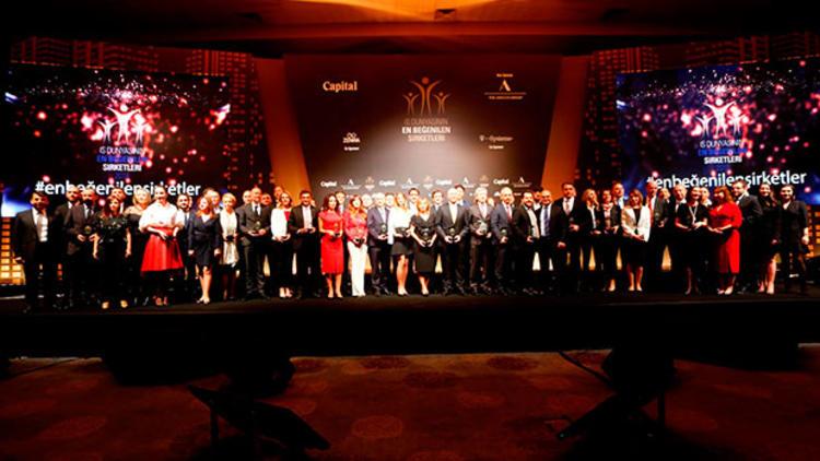 """""""İş Dünyasının En Beğenilen Şirketleri Araştırması"""" Ödül Töreni Sponsorları"""