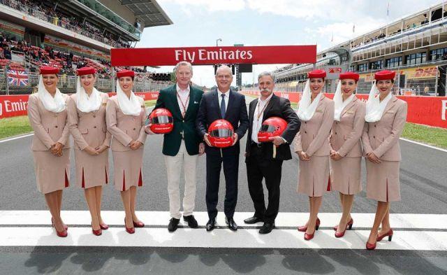 Emirates Havayolu Ve Formula 1 Ortaklıklarına Devam Edecek