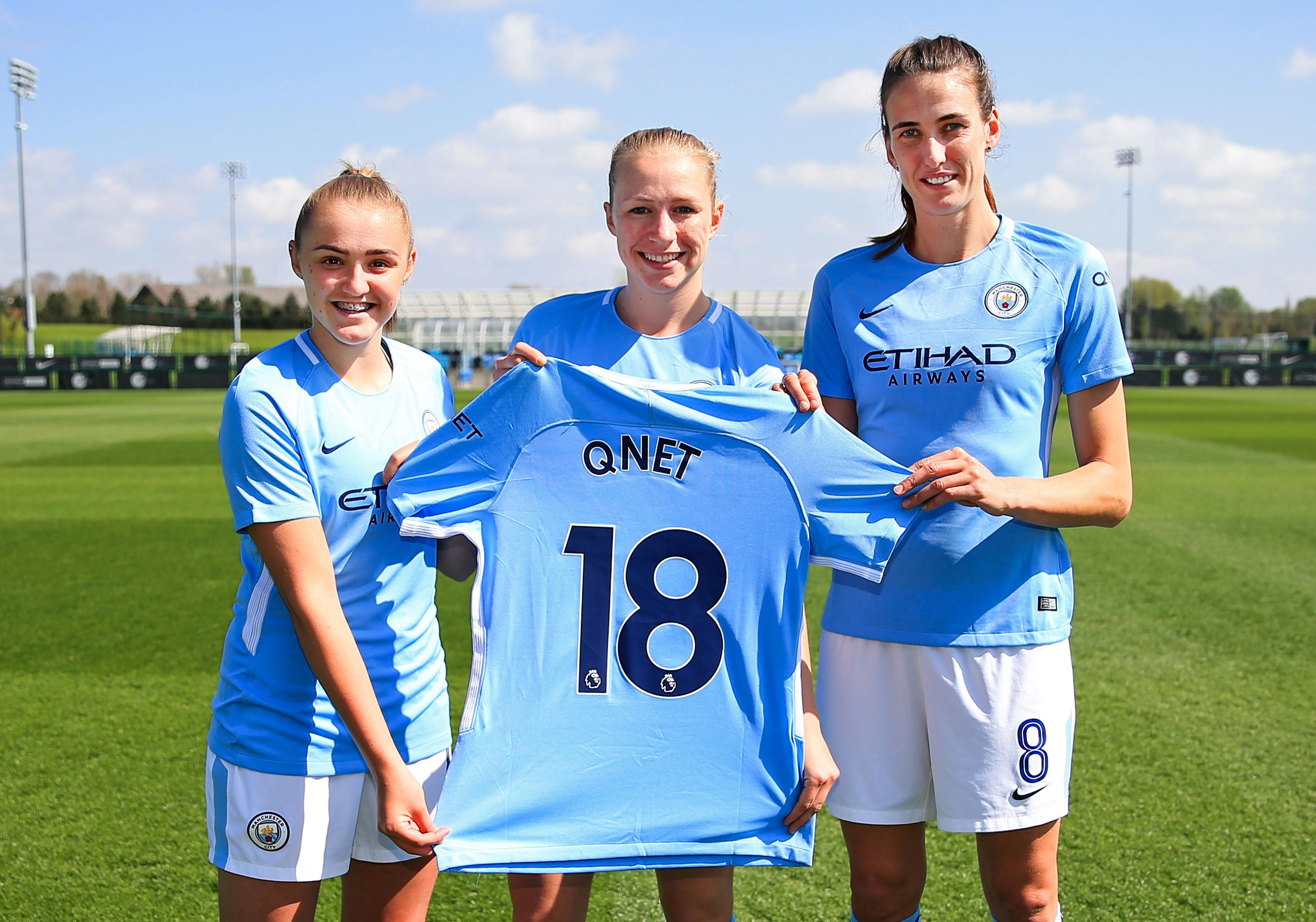 QNET Türkiye, Manchester City Kadın Futbol Takımı'na Sponsor Oldu