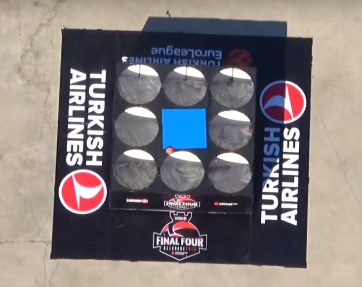 "THY Sponsorluğunda Belgrad'da ""Tic-Tac-Toe Challenge"""
