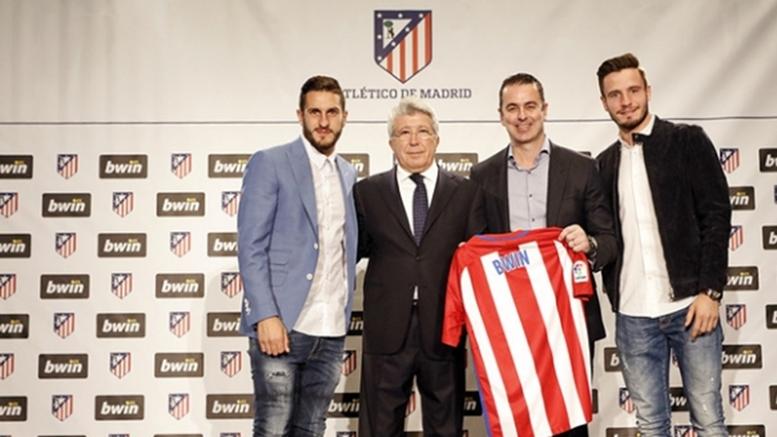 Bwin Atletico Madrid ile Yaptığı Anlaşmayı 2 Yıl Uzattı